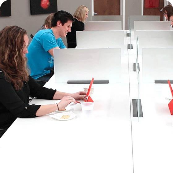 Panelists at Compusense testing facility