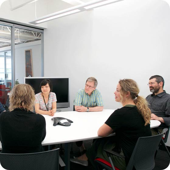 Meeting with the Compusense team